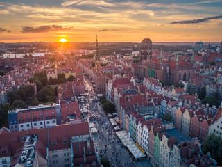 Obraz Lato w Gdańsku - fototapety do salonu