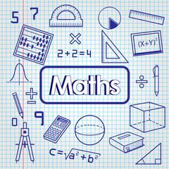 Back to school. math lesson