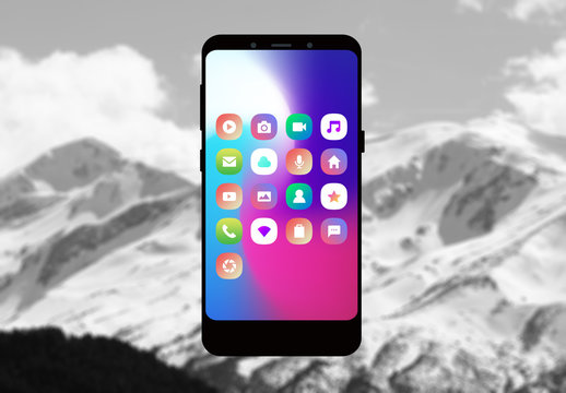 Sleek App UI Set