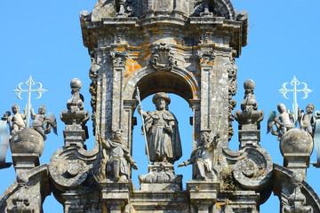 Grand Cathedral of Santiago de Compostela, Spain