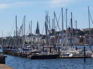 segler- yachthafen an der Ostsee