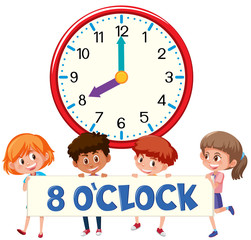 eight o'clock with children