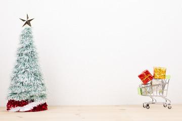クリスマスのショッピング