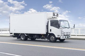 冷凍トラック 箱車 Fototapete