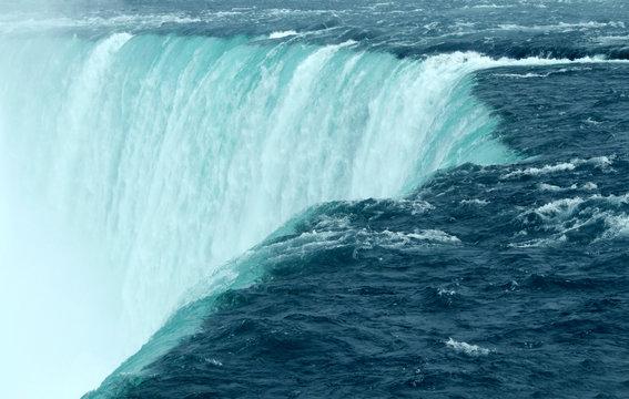 Niagara Falls Close Up