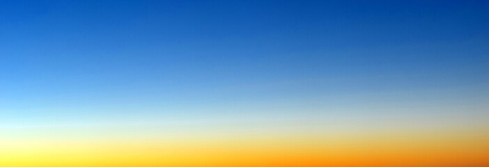 clear morning sky, gradient morning light