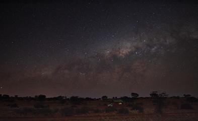Milky way over Kalahari