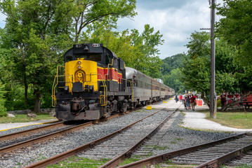 Train in Cuyahoga Valley