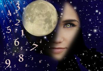 Shaman, full moon, numerology