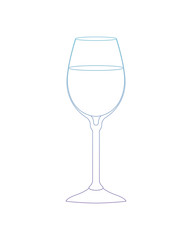 cup with beverage icon vector illustration design