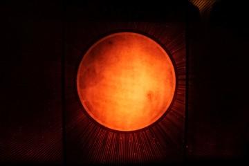 Rot leuchtender planet