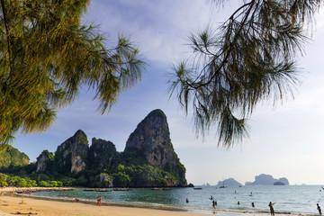 Der Railay-Beach bei Krabi, Thailand