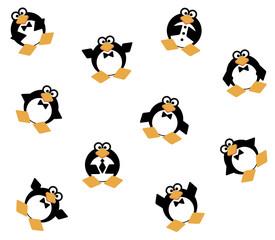Background. Penguins. Partnership. Company. Corporate