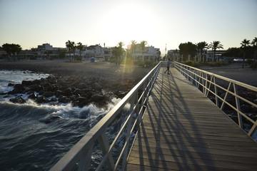 Playa y lago Nules y Moncofar