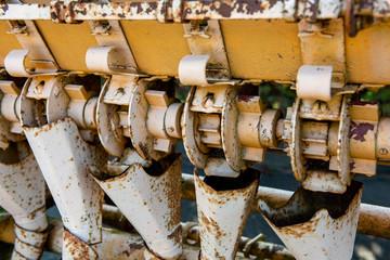Planter old machine