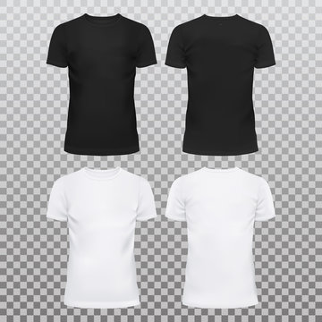 Blank or empty t-shirts for men and women
