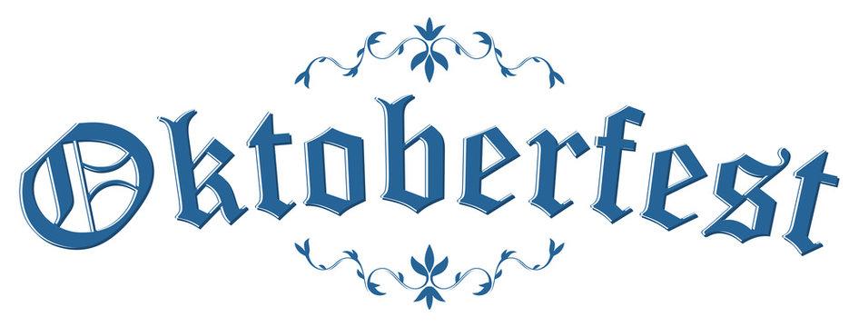 Header with text Oktoberfest 2018