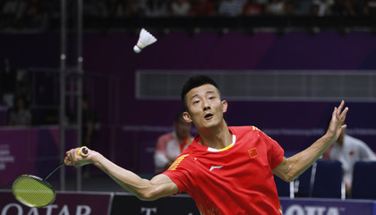 Badminton - 2018 Asian Games - Men's Team Final