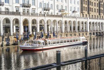 Alterschiff in Hamburg
