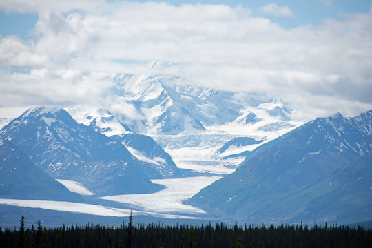 Matanuska Glacier in Glacier View, Alaska