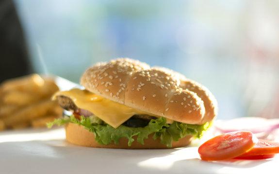 Burger - Food Photography