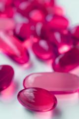 Cod fish liver oil capsules