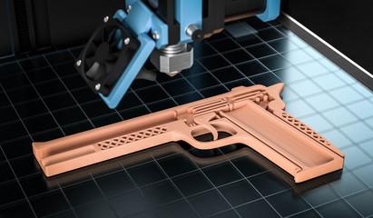3D Waffe aus dem 3D Drucker