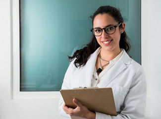 Young female doctor at the hospital