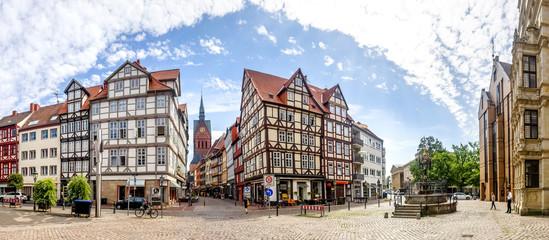 Fotorollo Altes Gebaude Hannover, Holzmarkt