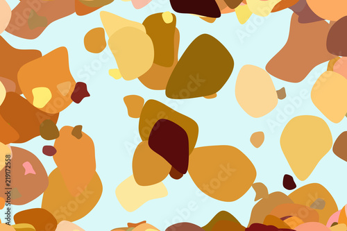 Shape Of Random Rounded Shapes Abstract Geometric