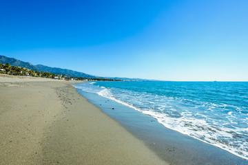 Playa de Rio Verde, Marbella, Andalusia, Spain