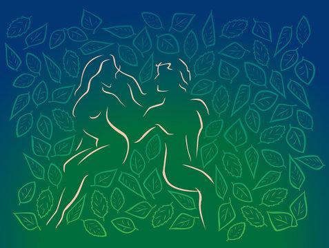 couple in Eden