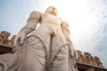 Gommateshwara Statue in Shravanabelagola, Indien