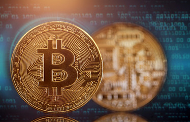 Golden Bitcoin Cryptocurrency