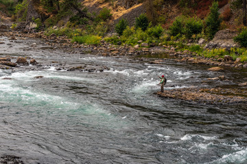 Bowl and Pitcher Area of Riverside State Park. Nine Mile Falls, Washington