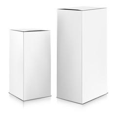 Vector. Mock Up. White Box