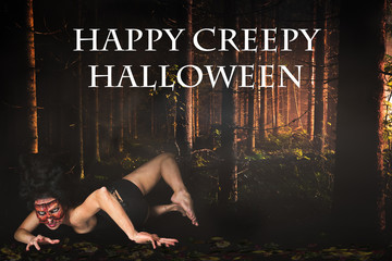 Happy Creepy Halloween