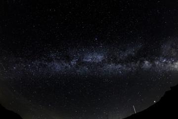 Milky Way over the Nivolet Pass