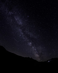 Milky Way over the Nivolet Pass