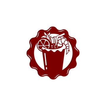 Healthy Spicy Drink Michelada Logo Design