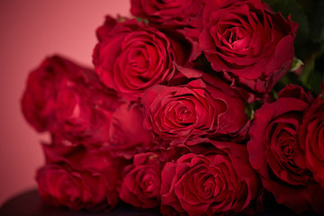 bouquet of red rose