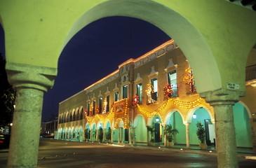 MEXICO YUCATAN VALLADOLID COLONIAL TOWN