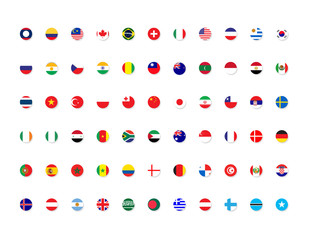 international country flags