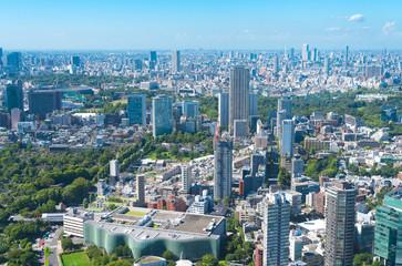 東京風景 六本木から望む北の方角の街並み