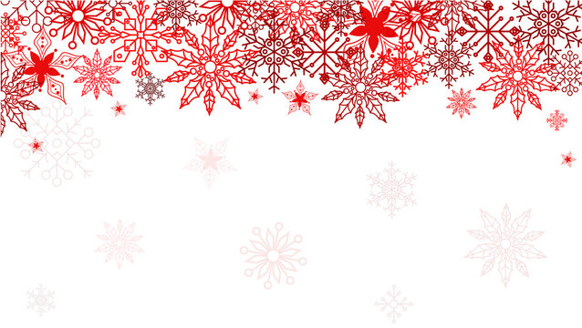 Elegant christmas background. Use your webpage, frontpage, card, invited card. Snowflakes ornament. Vector illustration. Eps 10.