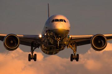 夏空と飛行機