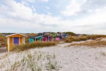 Skanör beach in Sweden.