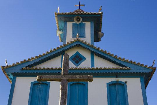 São Geraldo Chapel in the city of Três Barras in the interior of Minas Gerais in Brazil