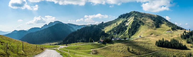 Fototapeten Gebirge view from setzberg mountain