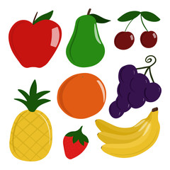 Various Healthy Fruits